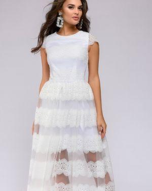 Коктейльное платье на торжество платье-сарафан 1001 Dress