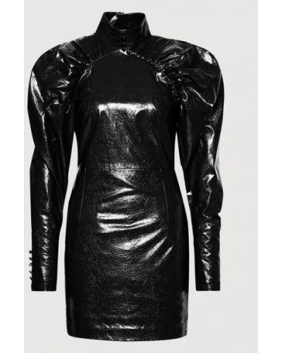 Czarna sukienka Rotate
