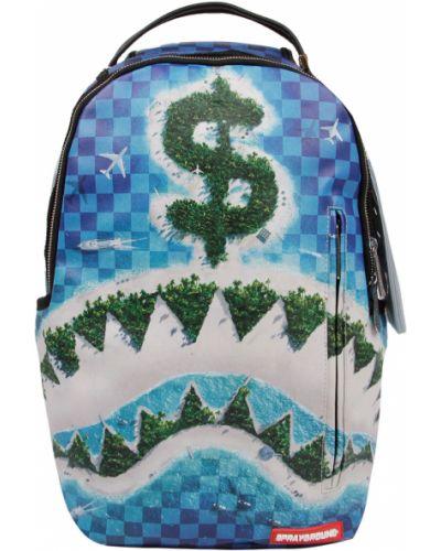 Синий рюкзак Sprayground