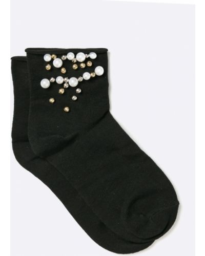 Носки с узором черные Fulloff