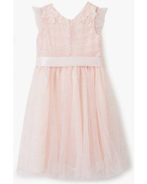 Платье на торжество розовый Zarina