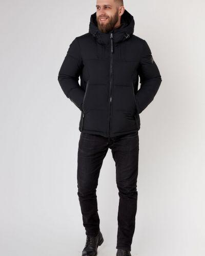 Куртка с капюшоном - черная Vivacana