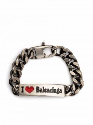 Złota bransoletka Balenciaga