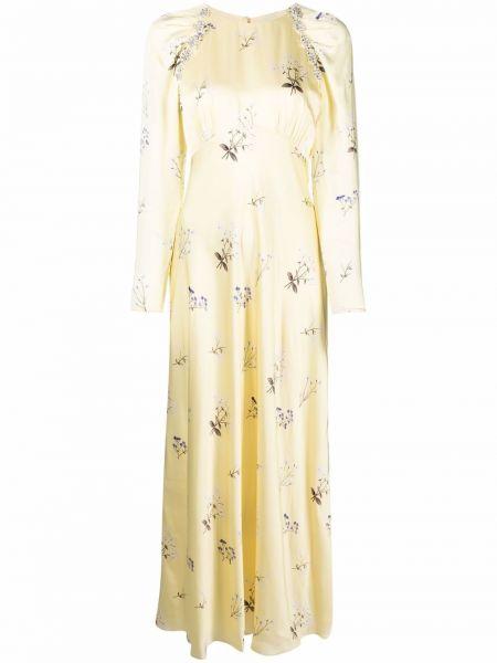 Платье винтажное - желтое Self-portrait