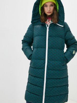 Зеленая утепленная куртка Ice Play