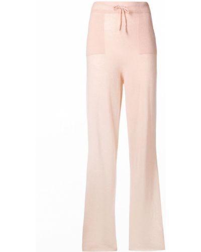 Спортивные брюки свободные розовый Pinko