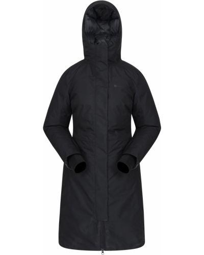 Czarna kurtka pikowana Mountain Warehouse