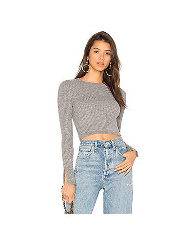 Вязаный свитер в рубчик Lovers + Friends