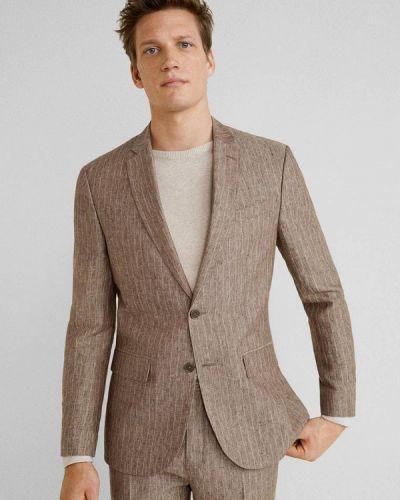 Пиджак коричневый Mango Man
