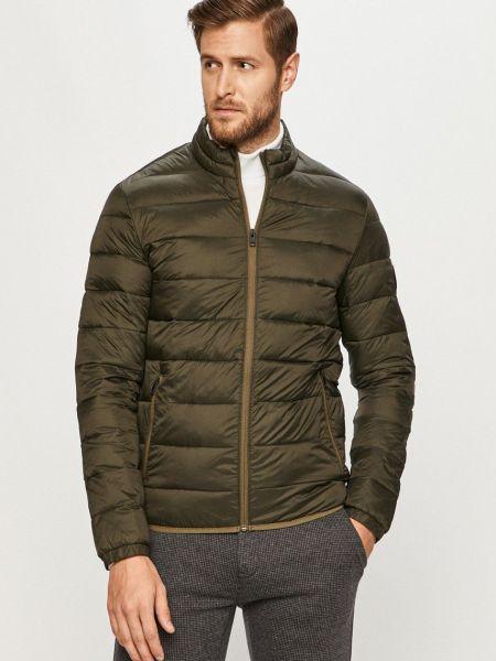 Нейлоновая стеганая куртка с воротником Jack & Jones