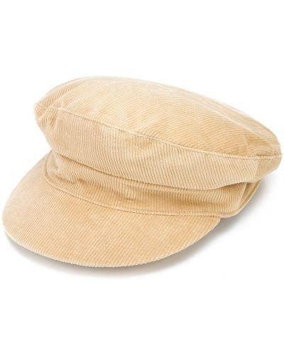 Żółta czapka bawełniana Lack Of Color