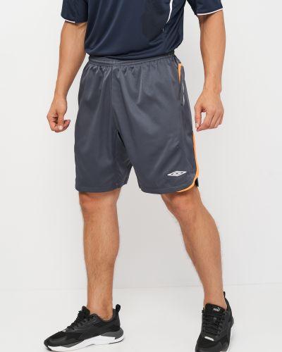 Спортивные шорты короткие - серые Umbro