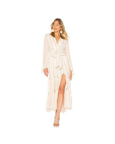Платье с поясом платье-сарафан Sundress