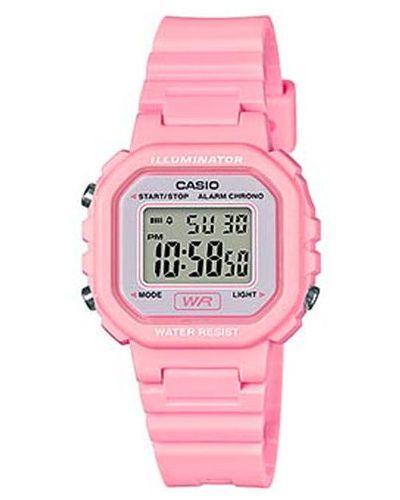 Różowy sport zegarek Casio