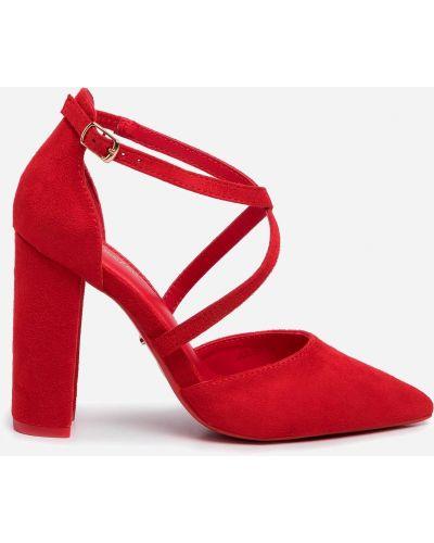 Туфли - красные Deezee