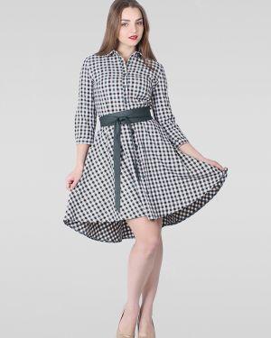 Платье с поясом платье-рубашка платье-сарафан Lilacollection