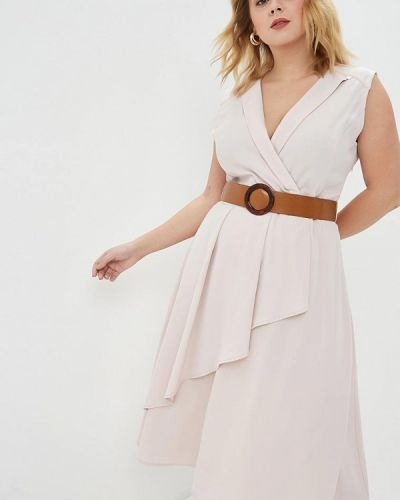 Повседневное платье розовое итальянский Kitana By Rinascimento
