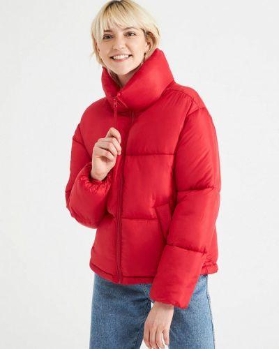 Утепленная куртка - красная Terranova