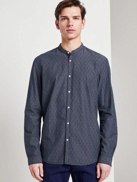 Джинсовая рубашка - синяя Tom Tailor Denim