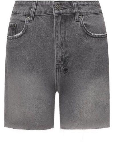 Джинсовые шорты - серые Ksubi