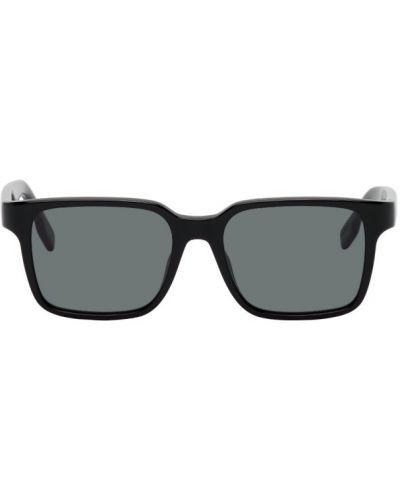 С кулиской черные солнцезащитные очки квадратные Kenzo