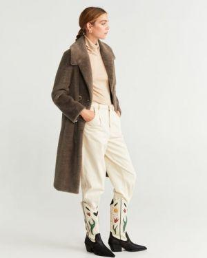 Пальто винтажное пальто Mango