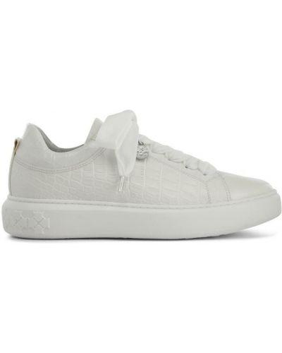 Sneakersy - białe Peter Kaiser
