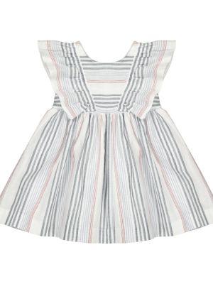 Хлопковое платье - белое Tartine Et Chocolat