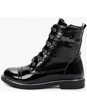 Ботинки лаковые черные Tiflani