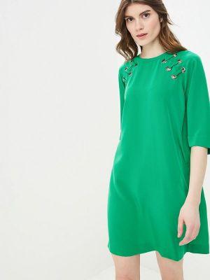 Платье зеленый Sisley