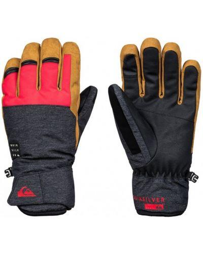 Красные перчатки Quiksilver