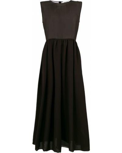 Платье без рукавов прозрачное Jil Sander