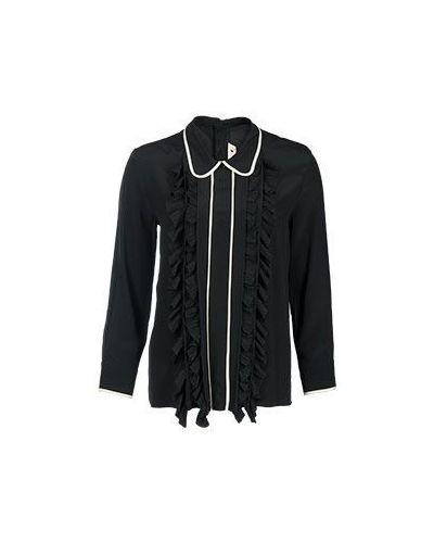 Черная блузка Marni
