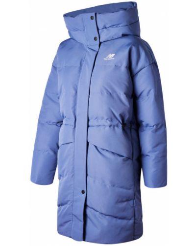 Пуховая куртка - синяя New Balance