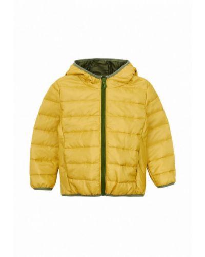 Теплая желтая куртка Garnamama