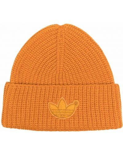 Czapka beanie - pomarańczowa Adidas