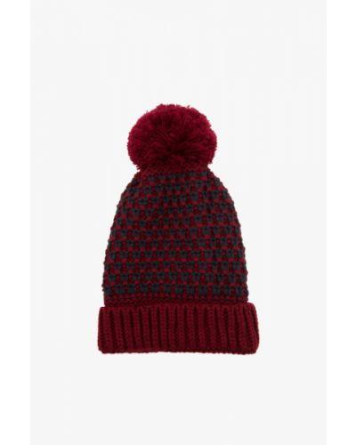 Czerwony beret z akrylu Koton
