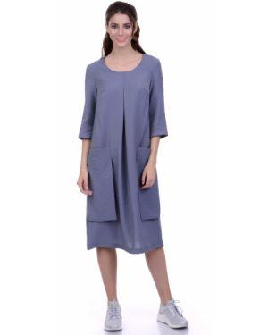 Летнее платье миди платье-сарафан Lautus