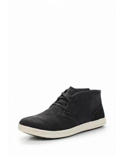 Черные ботинки Skechers