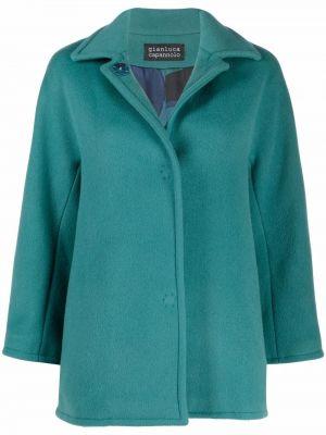 Зеленая шерстяная куртка Gianluca Capannolo