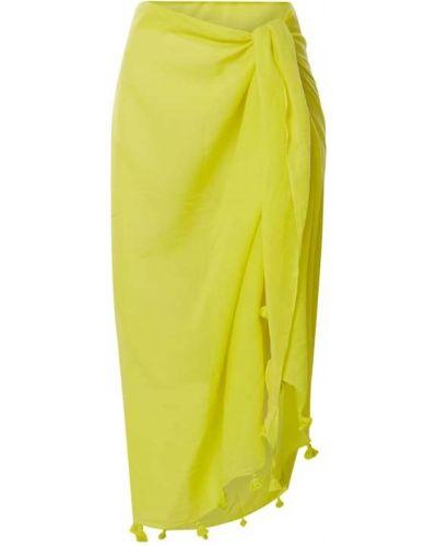 Żółty pareo bawełniany Fraas