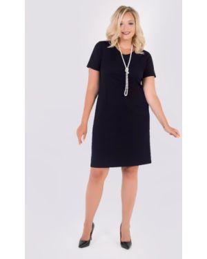 Платье мини футляр с V-образным вырезом тм леди агата