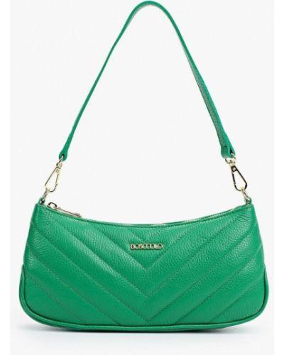 Кожаная сумка - зеленая Bosccolo