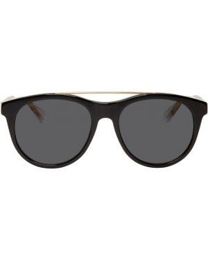 Okulary przeciwsłoneczne czarny sport Gucci