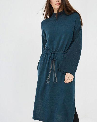 Платье свободного кроя - зеленое Free Age