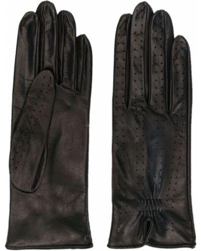 Перчатки эластичные черные Manokhi