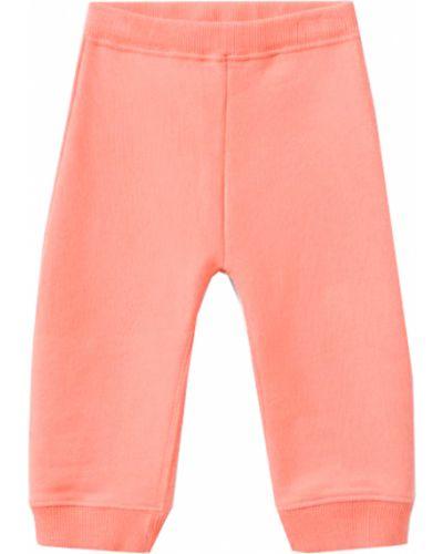 Оранжевые спортивные брюки Bonpoint