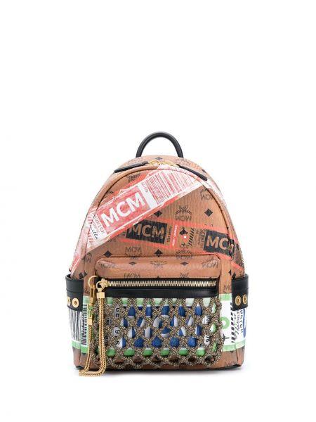 Кожаный рюкзак Mcm