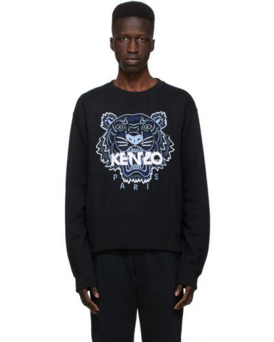 Z rękawami bawełna bawełna bluza z kołnierzem Kenzo