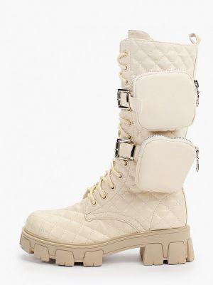 Бежевые демисезонные ботинки Marquiiz
